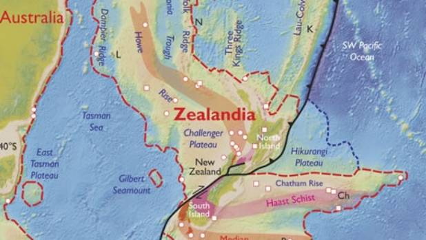 Zealandia is large and separate enough to be considered an actual continent.