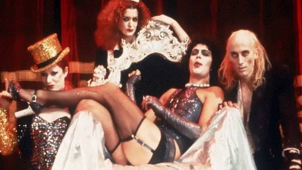 Fittingly, The Rocky Horror Picture Show is on the Hamilton Gardens Arts Festival programme.