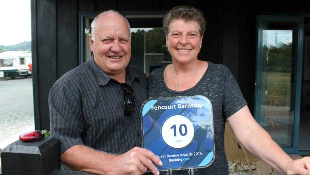 Graeme and Linda Roil own the Fencourt Barnstay in Cambridge.