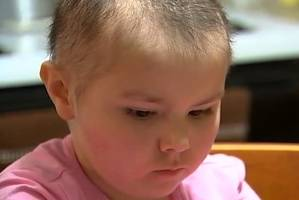 Ma'Kayla Welsh was diagnosed with leukaemia nearly two years ago.
