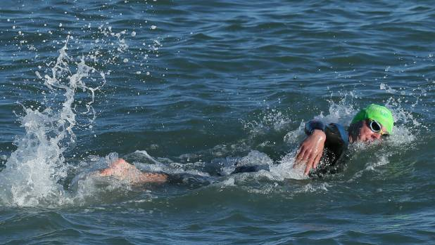 Hayden Squance made light work of the latest Port Nelson Sea Swim Series race.