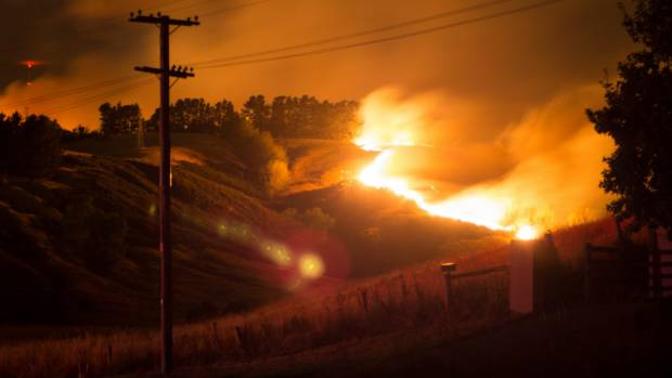 The Port Hills fire has destroyed homes, forced evacuations and resulted in the death of a pilot.