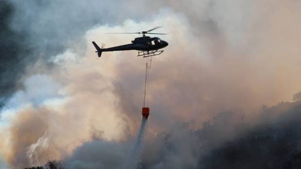 Aerial firefighting costs for the fires totaled $2.1 million.