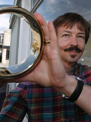 Halfdan Hansen of Jens Hansen Jewellers, who designed the rings for The Hobbit and Lord of the Rings movies, was ...
