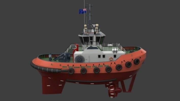 Port Taranaki's new $12 million tug boat to be dubbed 'Kinaki