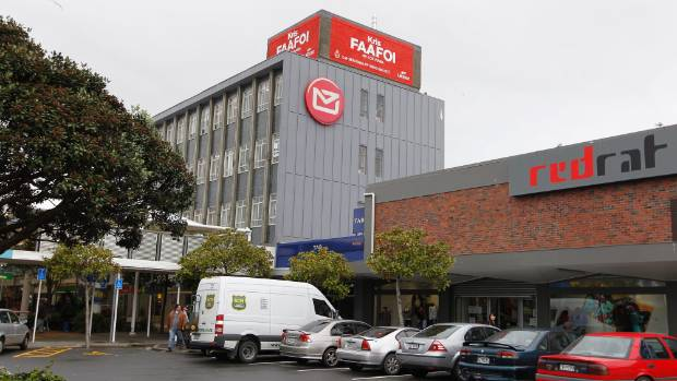 The former NZ Post building in Porirua will become apartments.
