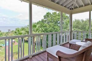 There are plenty of shaded outdoor porches, ideal for enjoying the sultry Georgia weather. This is the true Southern ...