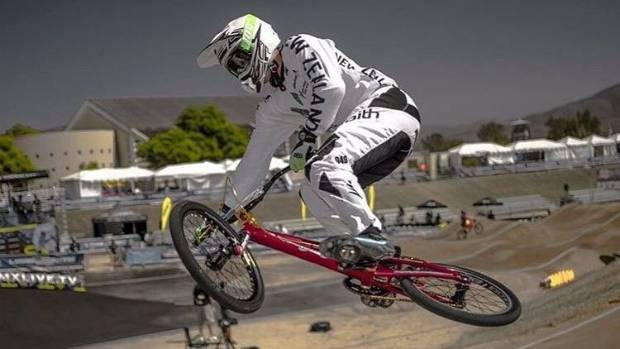 Matt Cameron was riding at World Cup events for the past five years.