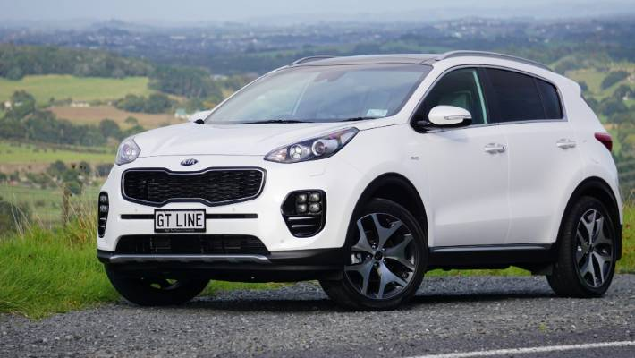 The Kia Sportage Pictured Is Flagship Gt Line Model