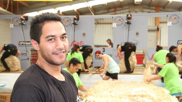 World Champion wool handler Joel Henare is competing at the Southern Shears in Gore.