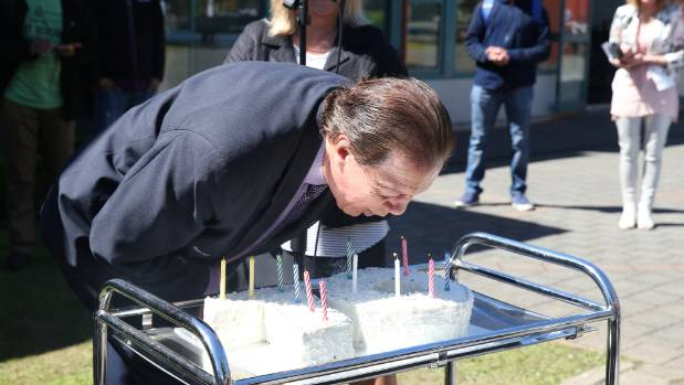 Invercargill Mayor Tim Shadbolt's 70th birthday celebration at SIT O Week.