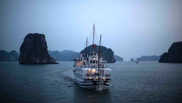 Cruising Vietnam's Ha Long Bay