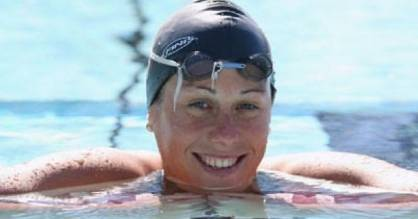 Australian former world champion swimmer Jade Edmistone says she became very good at hiding her depression.