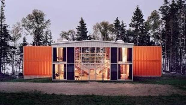 Wade said his inspiration came from a container house in Maine, in the United States, designed by architect Adam Kalkin.