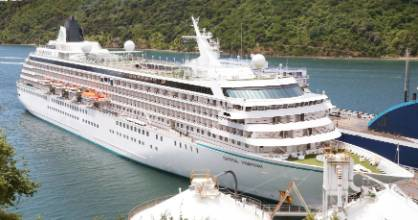 OCEL consultant Gary Teear may have a solution for port companies seeking mooring systems for large cruise ships.