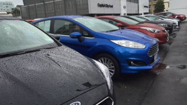 Sales of SUVs are strong at Capital City Motors, a Wellington Ford and Mazda dealership.