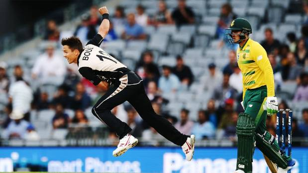 NZ seamer Trent Boult was outstanding in a losing effort at Eden Park.