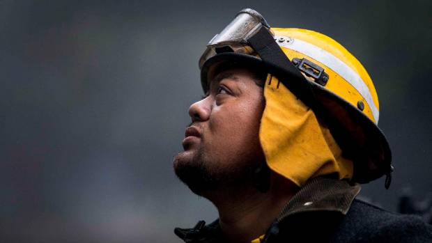 About 130 firefighters have fought to contain and extinguish the blazes since Monday.