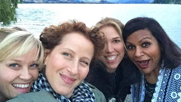 The cast of A Wrinkle in Time having a blast in NZ.
