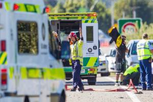 A teenager is dead after an SUV rolled near Blenheim.