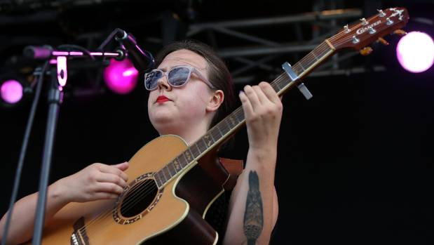 New Zealand singer songwriter Nadia Reid performs St Jerome's Laneway Festival last year.
