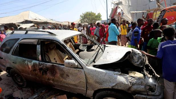 At least 39 dead in Somalia market bombing