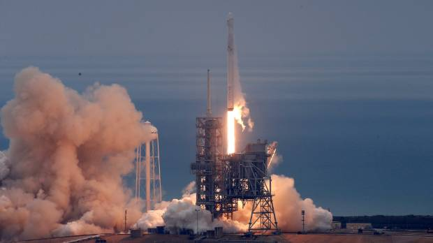 Elon Musk on Twitter: SpaceX 'go for launch' today