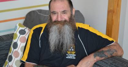 Christchurch bloke Ronald Parish will shave off his large beard next month for charity.
