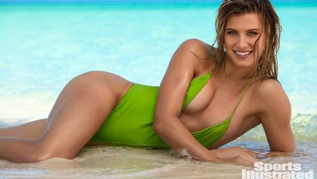 The Sports Illustrated cover photo featuring tennis star Genie Bouchard.