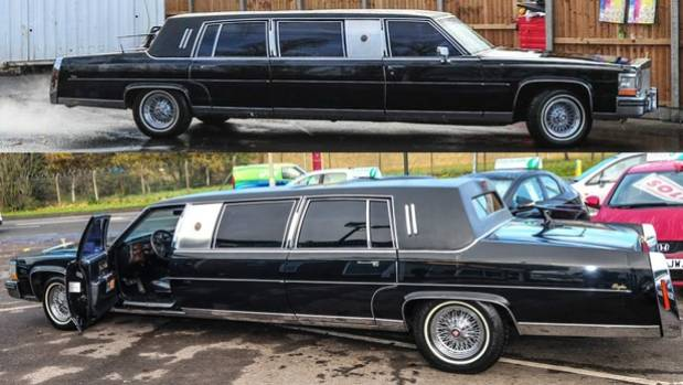 The now US President Donald Trump commissioned this Cadillac limousine back in 1988.