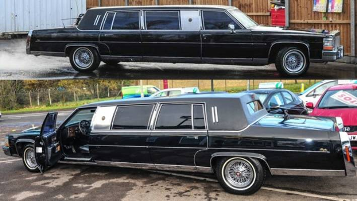 Ex Donald Trump Limo For Sale Stuff Co Nz