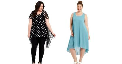 Both of these looks from Farmers are available up to a size 26.