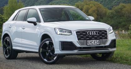 Audi calls Q2 an urban SUV. So yes, it's front-drive. But quattro is coming.