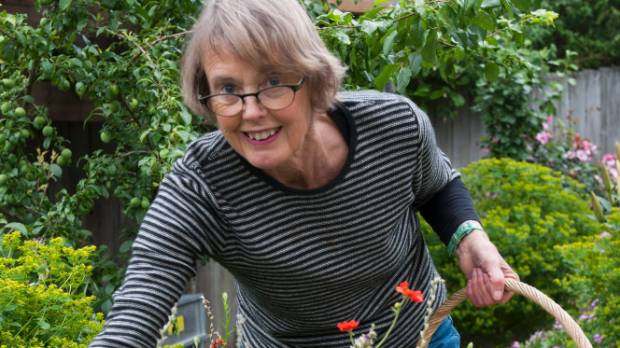Botanical watercolorist and keen gardener Nancy Tichborne
