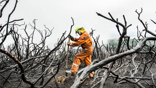 The rural fire costs for battling the Port Hills fires was $7.9 million.