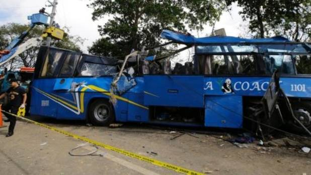 More than a dozen students killed in Tanay road crash