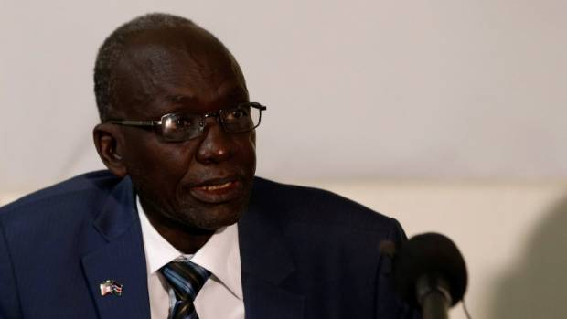 The famine was officially declared in South Sudan's capital of Juba.