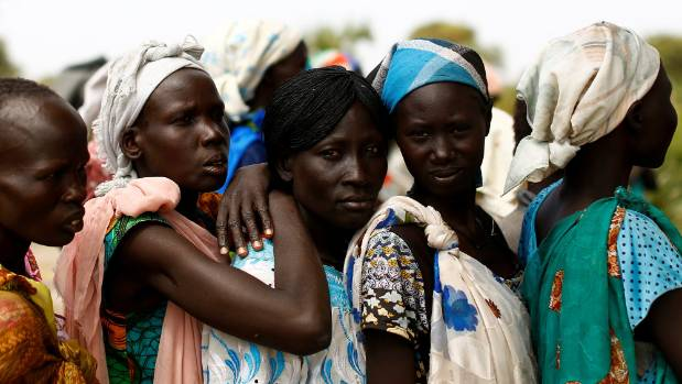 100,000 people face famine, with a further one million on the brink in South Sudan.