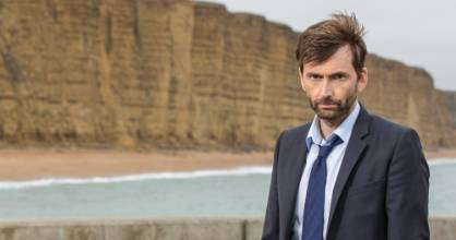 David Tennant as DI Alec Hardy in Broadchurch