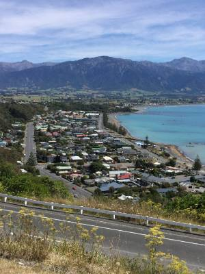 A Kaikoura business owner says the town will need on-going financial assistance until access is restored on State ...