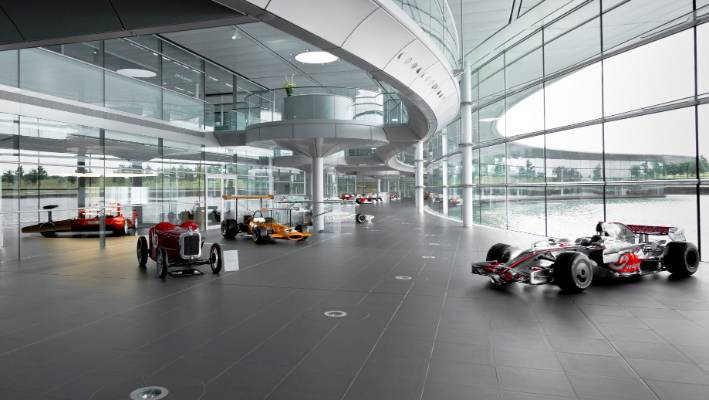 inside the magnificent mclaren technology centre | stuff.co.nz