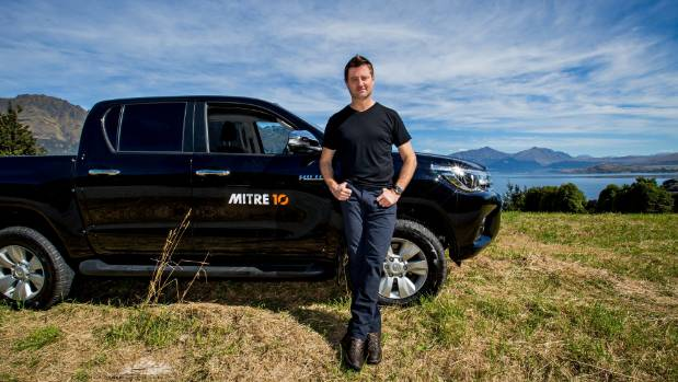 Architect and Amazing Spaces presenter George Clarke is currently filming Kiwis and their DIY projects in the South Island.