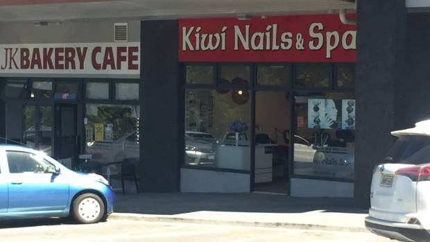 Kiwi Nails & Spa in Silverdale was fined for breaching Auckland Council's new regulations.