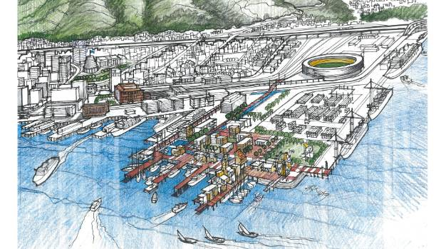 Wellington property developer Ian Cassels has his own ideas of what CentrePort should look like