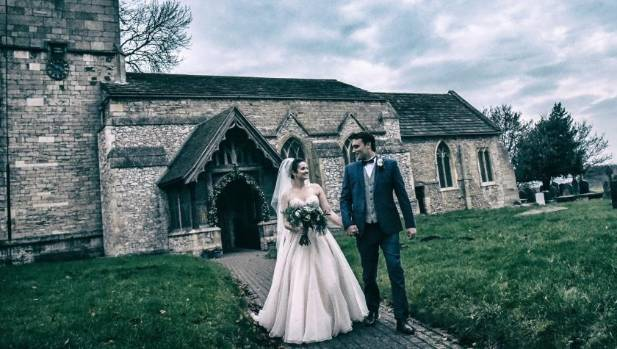 Stuff's wedding of the week: Whytney and Andrew