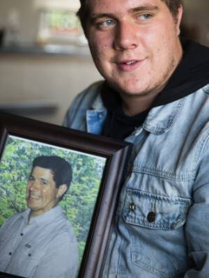 Matt Ogilvy, 17,  lost his father in a drowning incident. Ogilvy is a recipient of the First Foundation scholarship, for ...