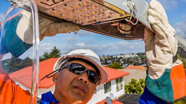 Around half of Auckland Street lighting will be replaced with LED lights by 2020 and all by 2025.