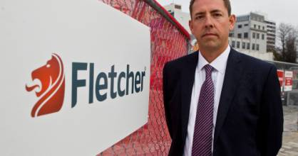 Fletcher Building chief executive Mark Adamson says the strength of the New Zealand economy helped drive the profit increase.