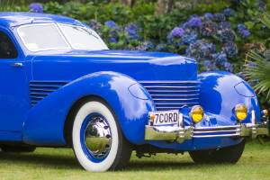 The 1937 factory built Cord Beverly is Reeve Barnett's favourite car to cruise around in.