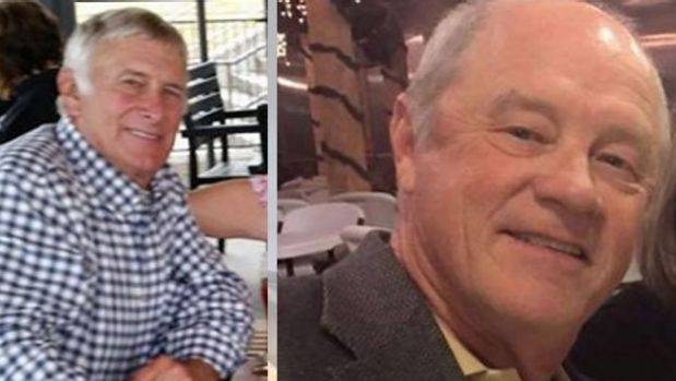 Essendon plane crash victims Greg De Haven (left) and Russell Munsch.